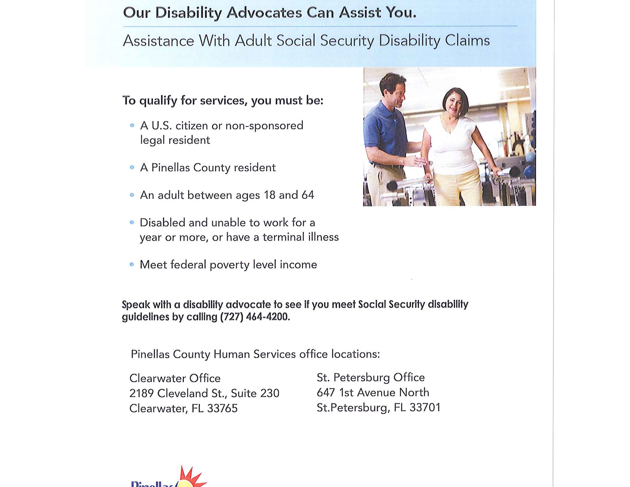 FREE Social Security Disability Claim Assistance!