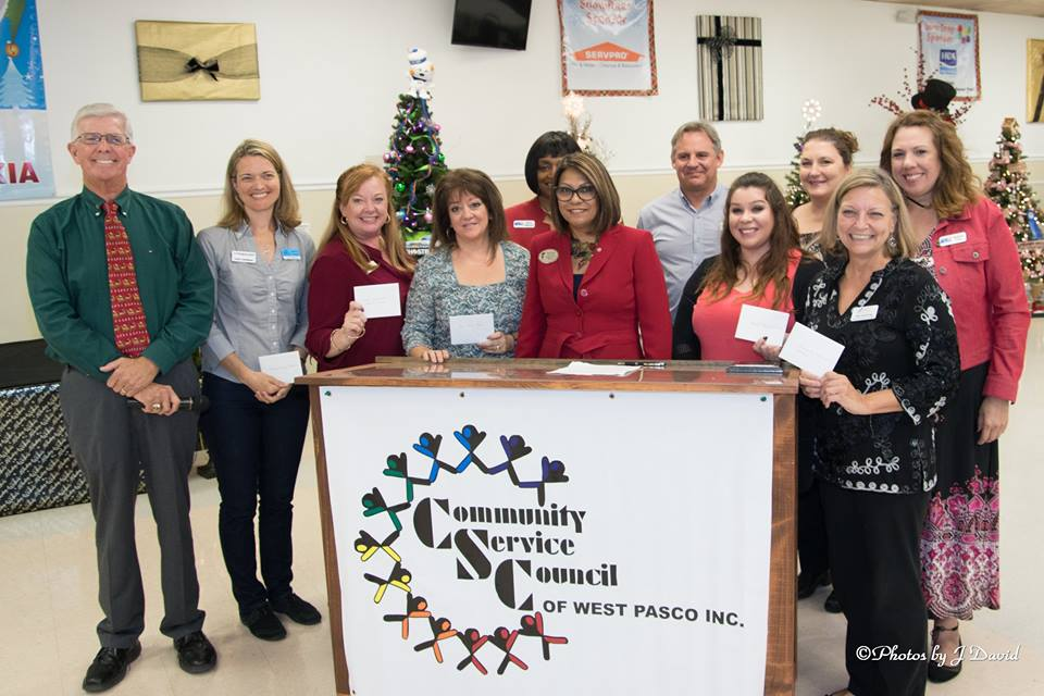 Community Service Council of West Pasco Awards Grants to Nonprofits