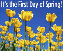 Happy 1st Day of Spring!