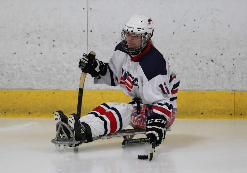 Sled hockey gold medal just another goal accomplished by Monica Quimby