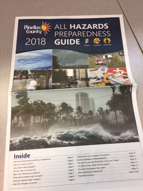 Pinellas All Hazard Guides Now Available
