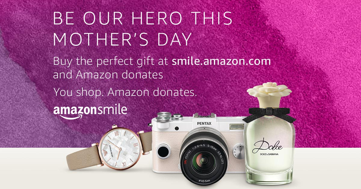 Shop Amazon?  Use Smile and Support DAC!