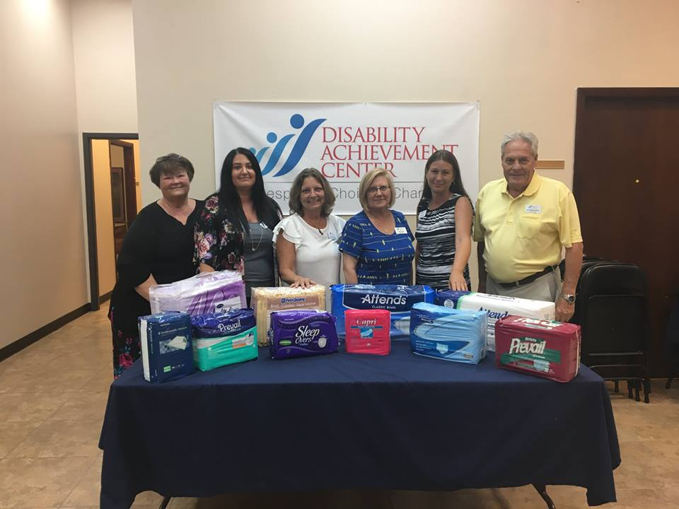 "DAC Designated as ""Diapers for Dignity"" Mid-County Distribution Center"