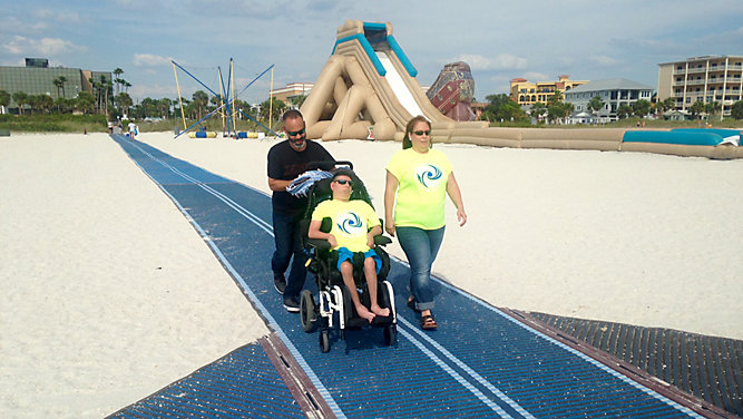 MobiMat Ribbon Cutting at Treasure Island Beach on Thursday 5/17 @5:30pm