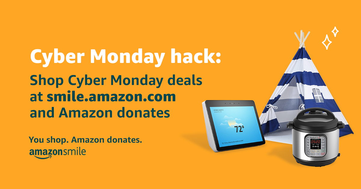 If You Shop Amazon, Please Use Smile.Amazon to Donate to DAC!